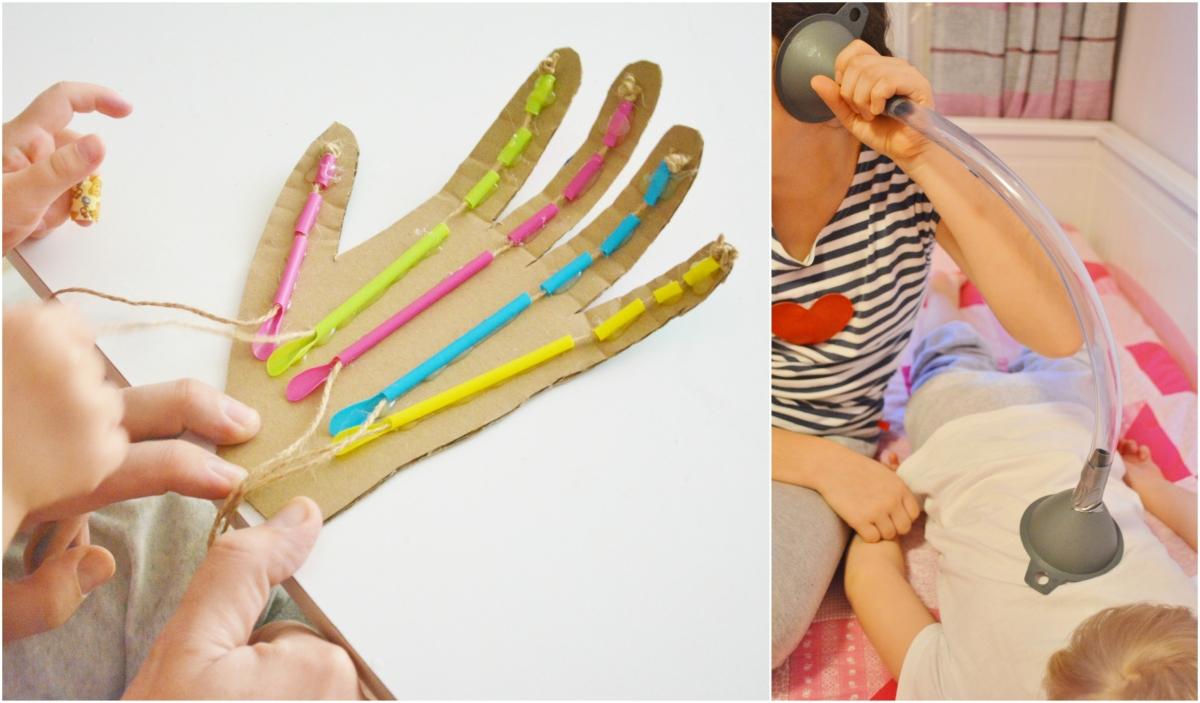 Domáci stetoskop a mechanická ruka. Návod na výrobu aj s videom